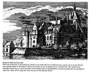 art 114 bijlage Tekening kasteel Wbd - David van Bourgondië